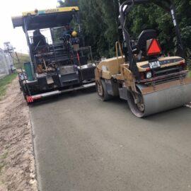 Videi draudzīgākā atkritumu poligona perimetra ceļa posma seguma izbūvei